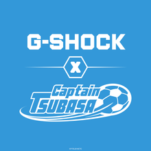 "Load image into Gallery viewer, Casio G SHOCK x France unveils ""CAPTAIN TSUBASA"" Collaboration DW-5600MWCT-7"