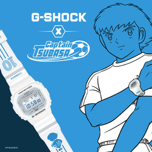 "Casio G SHOCK x France unveils ""CAPTAIN TSUBASA"" Collaboration DW-5600MWCT-7"