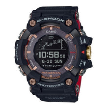 "Load image into Gallery viewer, Casio G Shock 35th Anniversary ""MAGMA OCEAN"" RANGEMAN GPR-B1000TF (BLACK)"