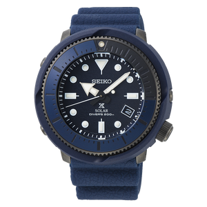 "Seiko PROSPEX ""STREET SERIES"" (Navy) Solar Powered SNE533P1"