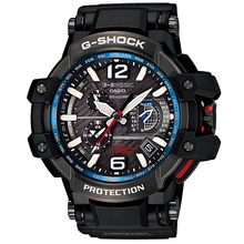 "Load image into Gallery viewer, Casio G Shock 2014 The World's First GPS ATOMIC ""GRAVITYMASTER"" GPW-1000-1A"