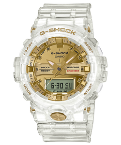 "Casio G SHOCK 35th Anniversary ""GLACIER GOLD"" Series GA-835E"