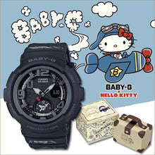 "Load image into Gallery viewer, Casio BABY G x ""HELLO KITTY"" (Travelers) BGA-190KT (Black)"