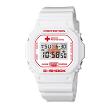 "Load image into Gallery viewer, Casio G SHOCK x ""JAPAN RED CROSS"" 140th Anniversary DW-5600VT"