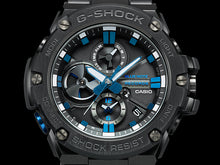 "Load image into Gallery viewer, Casio G SHOCK x ""BLUE NOTE RECORD"" Bluetooth® GST-B100BNR"