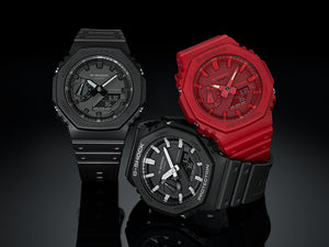 "Casio G SHOCK 2019 ""CARBON CORE"" Guard structure GA-2100 (Red)"