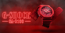 "Load image into Gallery viewer, Casio G SHOCK 2019 ""CARBON CORE"" Guard structure GA-2100 (Red)"
