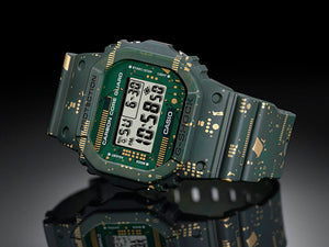 Casio G SHOCK 2020 Circuit Board Camouflage Special Edition DWE-5600CC-3