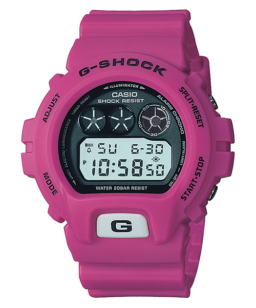 Casio G SHOCK 2005 Made In Japan DW-6900FS (Pink)