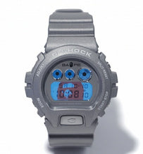 "Load image into Gallery viewer, Casio G SHOCK x ""A BATHING APE"" BAPE DW-6900 NIGO® (SLIVER)"