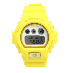 "Casio G SHOCK x ""A BATHING APE"" BAPE DW-6900NFS ""NIGO'S FAVORITE SHOP"" 2007 Limited Edition (Yellow)"