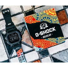 "Load image into Gallery viewer, Casio G SHOCK x ""SAM LO"" Singapore National Day 2019 MAJULAH GX-56BB-DRSG54"