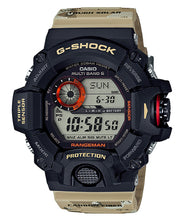 "Load image into Gallery viewer, Casio G Shock Master of G ""RANGEMAN"" Men in Desert Camouflage GW-9400DCJ"