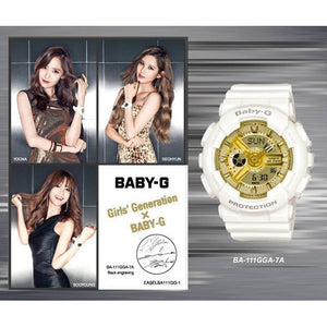 "Casio BABY-G 20th Anniversary x ""GIRLS GENERATION"" BA-111GGA"