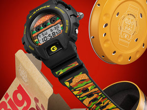 "Casio G SHOCK x ""McDONALD'S"" BIG MAC 50th Anniversary DW-6900FS"