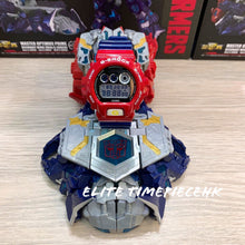 "Load image into Gallery viewer, Casio G SHOCK 35th Anniversary x ""TRANSFORMERS"" Optimus Prime DW-6900TF"