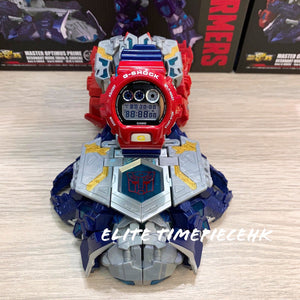 "Casio G SHOCK 35th Anniversary x ""TRANSFORMERS"" Optimus Prime DW-6900TF"