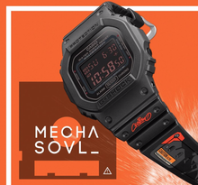 "Load image into Gallery viewer, Casio G SHOCK x ""CLOGTWO"" @Mighty JAXX DW-5600MS-1CLOG2 Black Edition"
