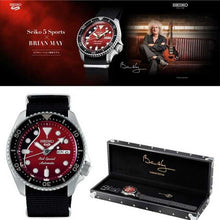 "Load image into Gallery viewer, Seiko 2020 x ""QUEEN's"" Guitarist ""BRIAN MAY"" Seiko 5 Sport Limited Edition SRPE83K1"
