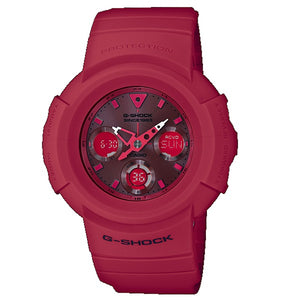 "Casio G SHOCK 35th Anniversary ""RED-OUT"" AWG-M535C"