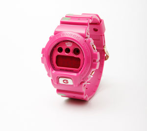 "Casio G Shock x ""PEGLEG"" NYC Watermelon DW-6900FS"