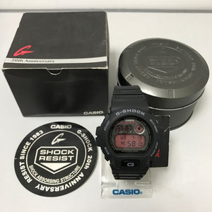 "Casio G SHOCK 20th Anniversary ""TRIBUTE"" Series DW-6900ML"