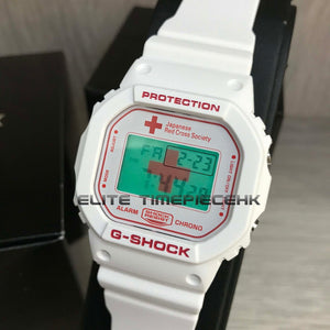 "Casio G SHOCK x ""JAPAN RED CROSS"" 140th Anniversary DW-5600VT"