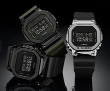 "Load image into Gallery viewer, Casio G Shock 2019AW ""STAINLESS STEEL CASE"" Series GM-5600B (Army Green)"