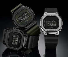 "Load image into Gallery viewer, Casio G Shock 2019AW ""STAINLESS STEEL CASE"" Series GM-5600B (Black)"