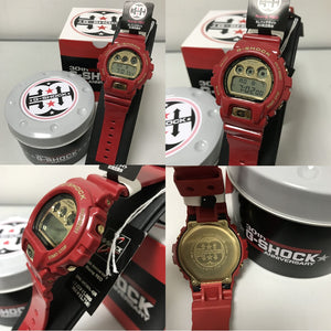 "Casio G SHOCK 30th Anniversary ""Rising Red"" Series DW-6930A"
