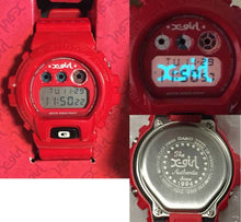 "Load image into Gallery viewer, Casio G Shock x ""X-GIRL"" 20th Anniversary DW-6900FS"