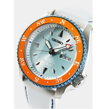 "Load image into Gallery viewer, Seiko 2020 x ""ONE PIECE"" ""Nami"" Seiko 5 Sport Limited Edition SRPF63K1"