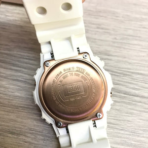 "Casio G SHOCK 35th Anniversary x ""PIGALLE"" DW-5600PGW (WHITE)"