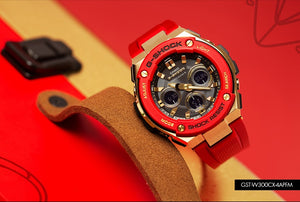 "Casio G Shock 2020 CHINESE NEW YEAR ""YEAR OF RAT"" GST-W300CX (Red)"