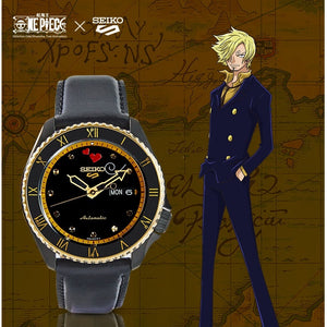 "Seiko 2020 x ""ONE PIECE"" ""Sanji"" Seiko 5 Sport Limited Edition SRPF64K1"