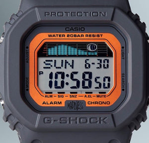 "Casio G SHOCK 2020ss x ""MADNESS"" G-LIDE Series 2nd collaboration GLX-5600MAD19-1"