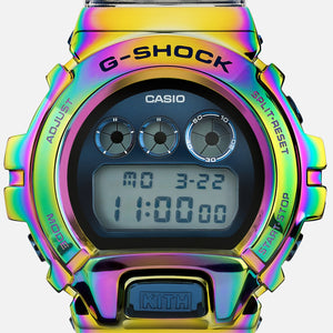 Casio G SHOCK 2021SS x KITH 10th Anniversary RAINBOW METAL BEZEL Limited GM-6900KTH