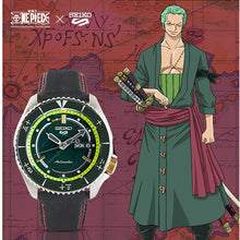 "Load image into Gallery viewer, Seiko 2020 x ""ONE PIECE"" ""SPECIAL PIRATE BOX SET"" Seiko 5 Sport Limited Edition (5 Watches Set)"