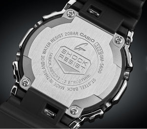 "Casio G Shock 2019AW ""STAINLESS STEEL CASE"" Series GM-5600"