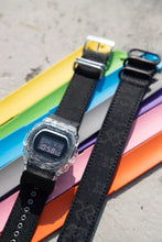"Load image into Gallery viewer, Casio G Shock x ""CLOT"" Black Silk Royale strap JUICE Store Exclusive DW-5750CL19-Set"