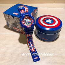 "Load image into Gallery viewer, Casio G SHOCK x ""AVENGERS ENDGAME"" GA-110CAPTAIN"