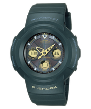 "Load image into Gallery viewer, Casio G SHOCK 25th Anniversary ""DAWN BLACK"" Series AWG-525A"