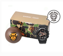 Load image into Gallery viewer, COMING SOON Casio Baby-G x BABY MILO® STORE by A Bathing Ape BA-110RG-1APR MILO