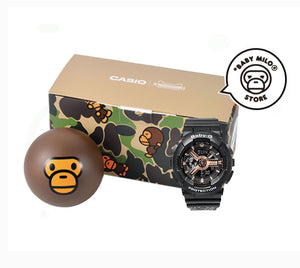 COMING SOON Casio Baby-G x BABY MILO® STORE by A Bathing Ape BA-110RG-1APR MILO