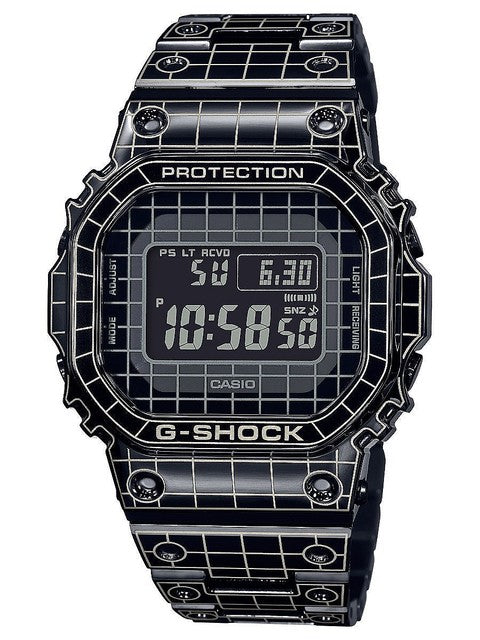 Casio G SHOCK 2020ss GMW Series Laser-Carved Grid
