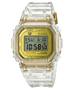 "Casio G SHOCK 35th Anniversary ""GLACIER GOLD"" Series DW-5035E"