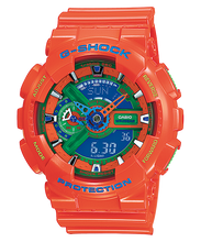"Load image into Gallery viewer, Casio G SHOCK ""HYPER COLOR"" Series GA-110A (Orange)"