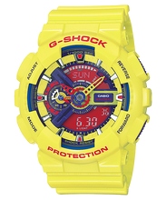 "Load image into Gallery viewer, Casio G SHOCK ""HYPER COLOR"" Series GA-110A (Yellow)"