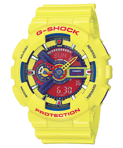 "Casio G SHOCK ""HYPER COLOR"" Series GA-110A (Yellow)"