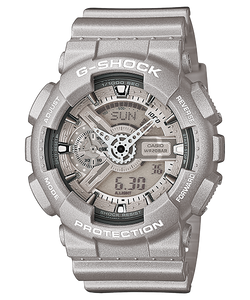 "Casio G SHOCK ""HYPER COLOR"" Series GA-110BC (Sliver)"
